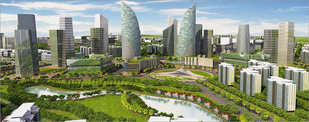 Крупнейшие IT-корпорации построят умные города для всех
